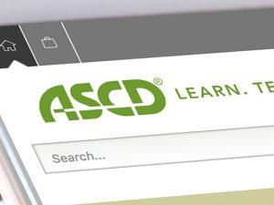 ASCD.org Website Redesign